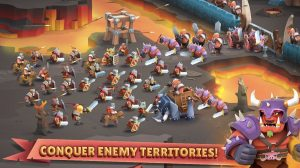 Game Of Warriors Attack Evil Enemy