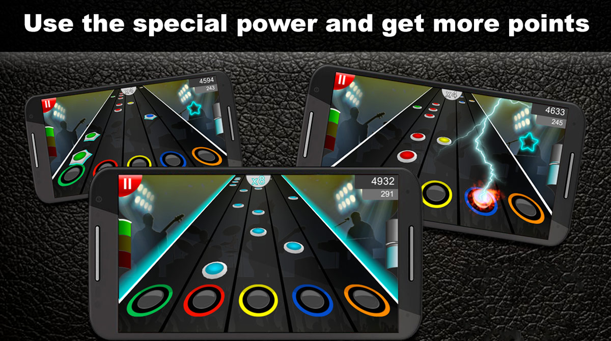 Guitar Flash Use Special Power