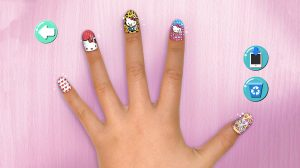 Hello Kitty Nail Salon Loveable Manicure