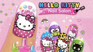 Hello Kitty Nail Salon Adorable Design