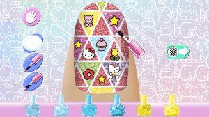 Hello Kitty Nail Salon Lovely Pattern