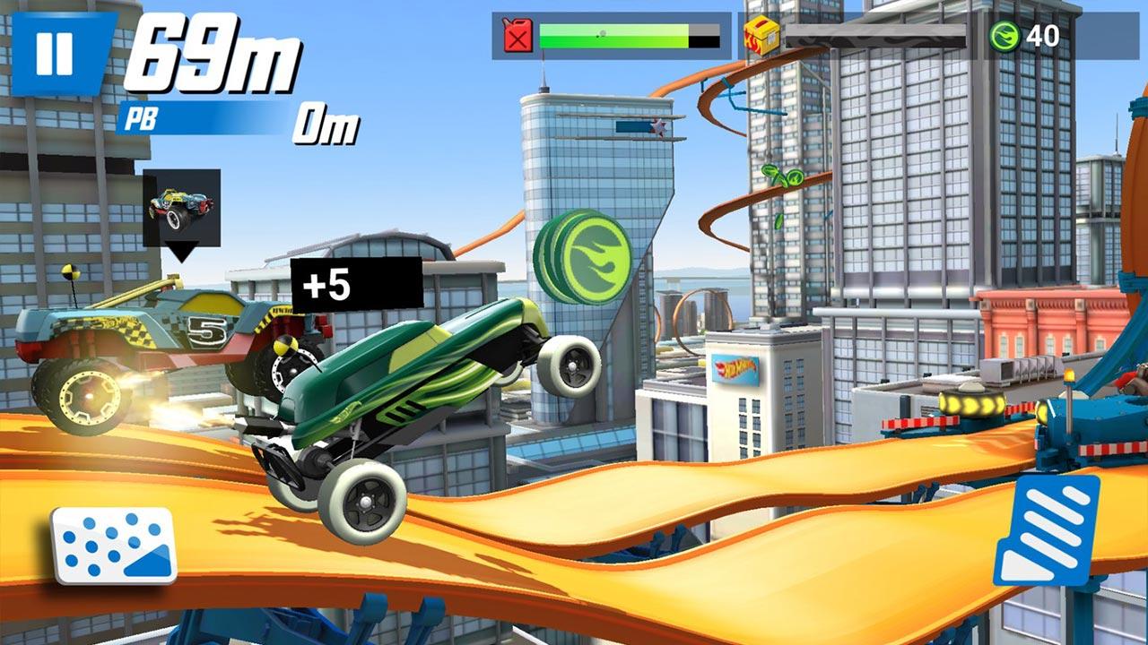 Hot Wheels Race Off Close Gap