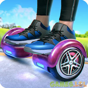 Play Hoverboard Rush on PC