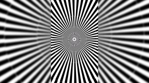 illusion zooming optical deception