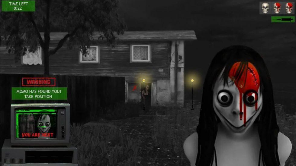 kill the momo creepy