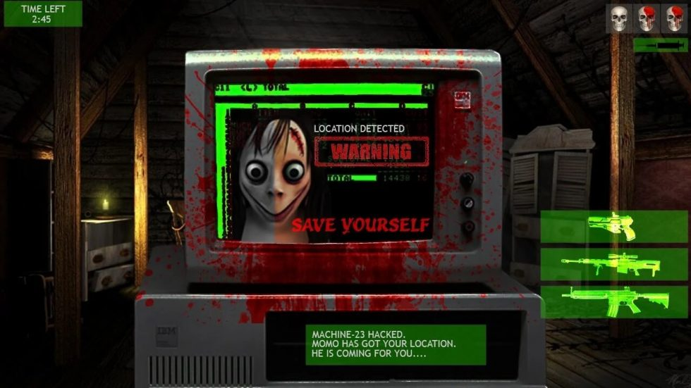 kill the momo location detected