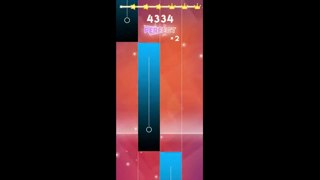 magic tiles best score gameplay