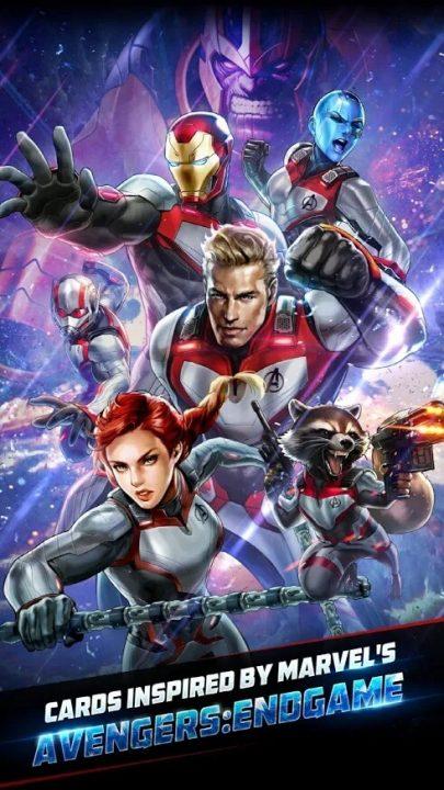 marvel battle lines avengers endgame