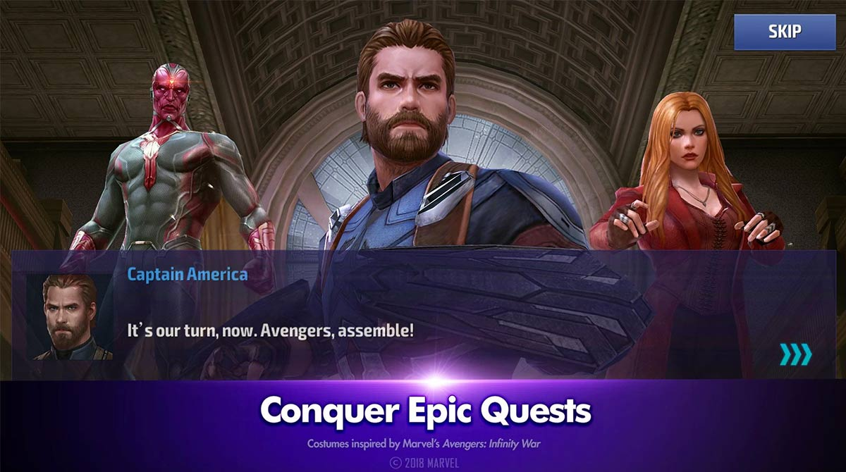 marvel future fight epic quests