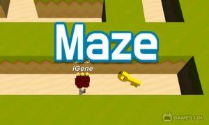 Play Maze.io on PC