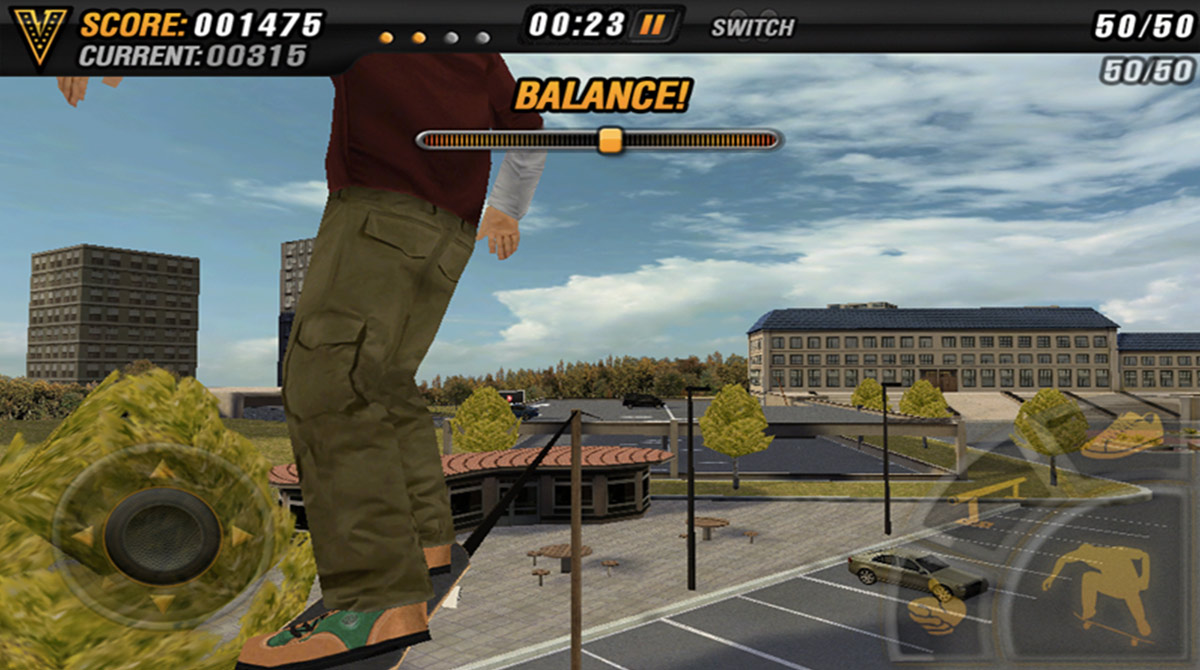 mike v skateboard balance
