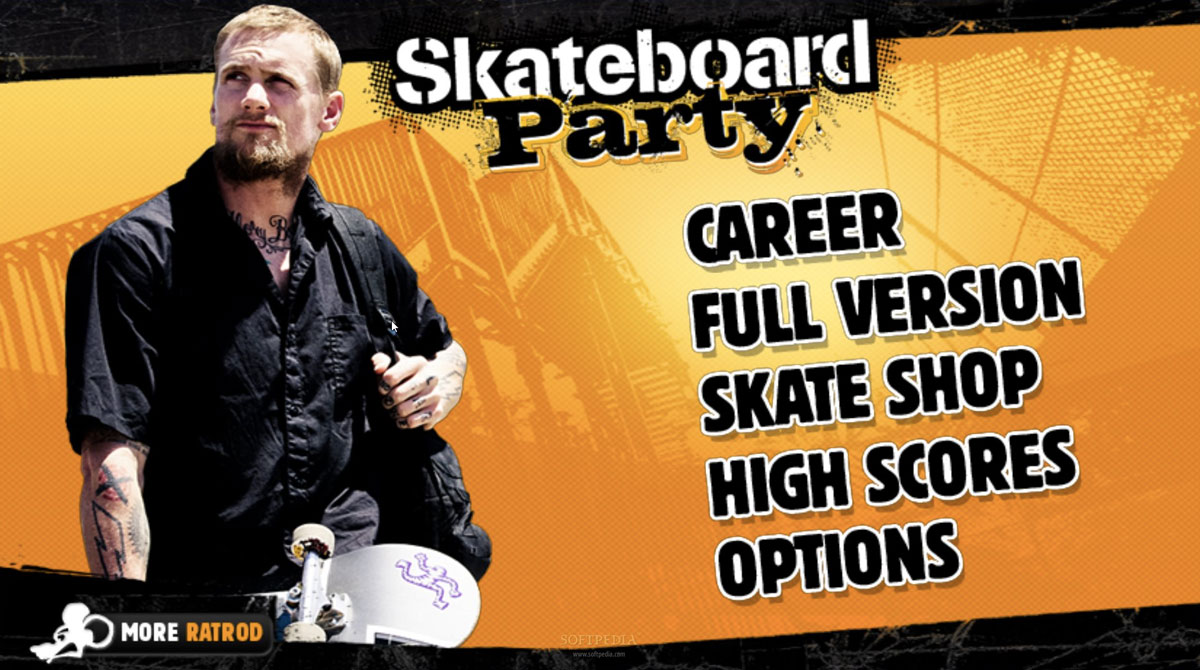 mike v skateboard menu
