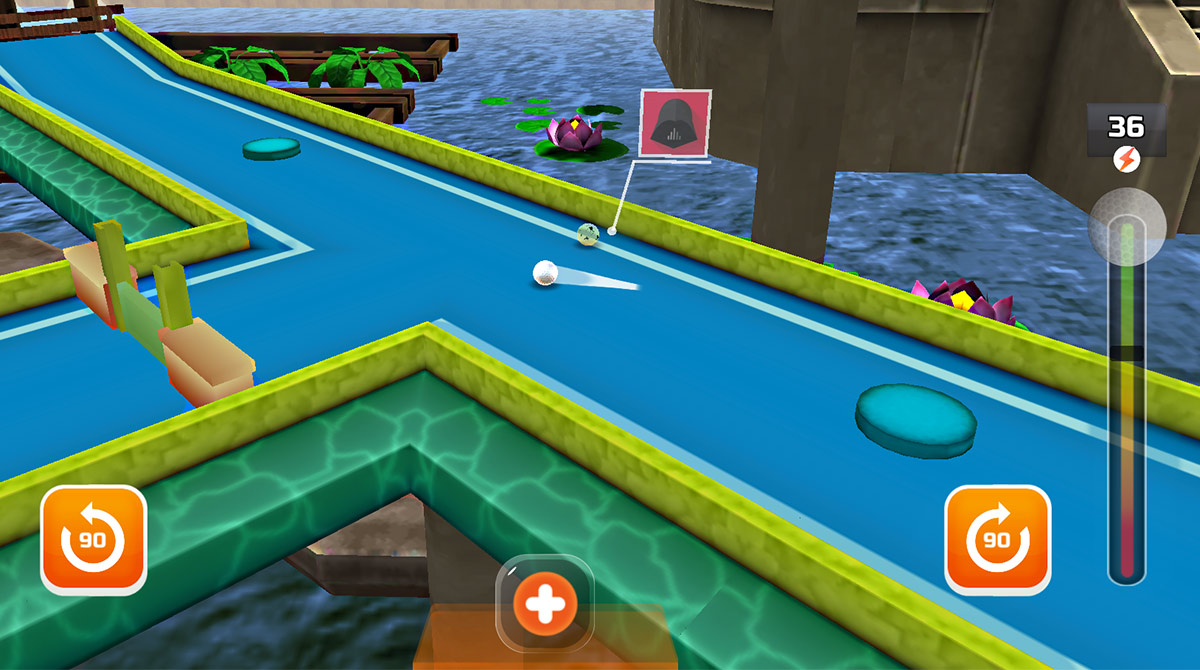 mini golf 3d city multiplayer