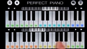 Double Piano Keys