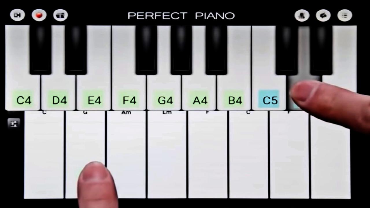 Piano Practice Perfect Piano