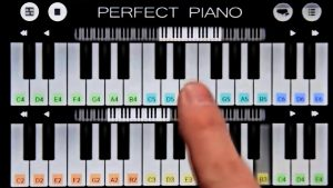 Piano Practice Two Keys