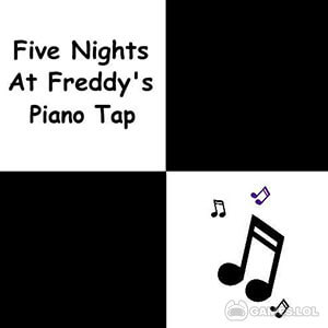 Play Piano Tap – fnaf on PC