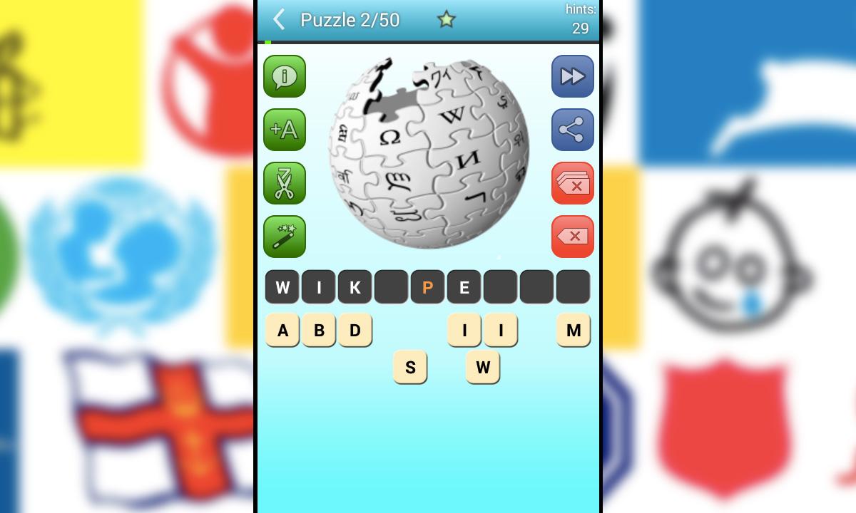 Picture Quiz LogosWikipedia Puzzle