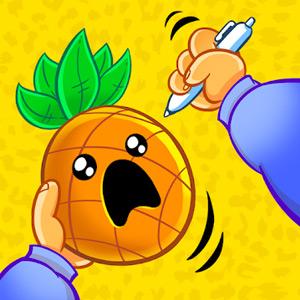 Pineapple Pen Scared