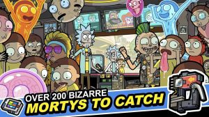 rick and morty bizarre to catch