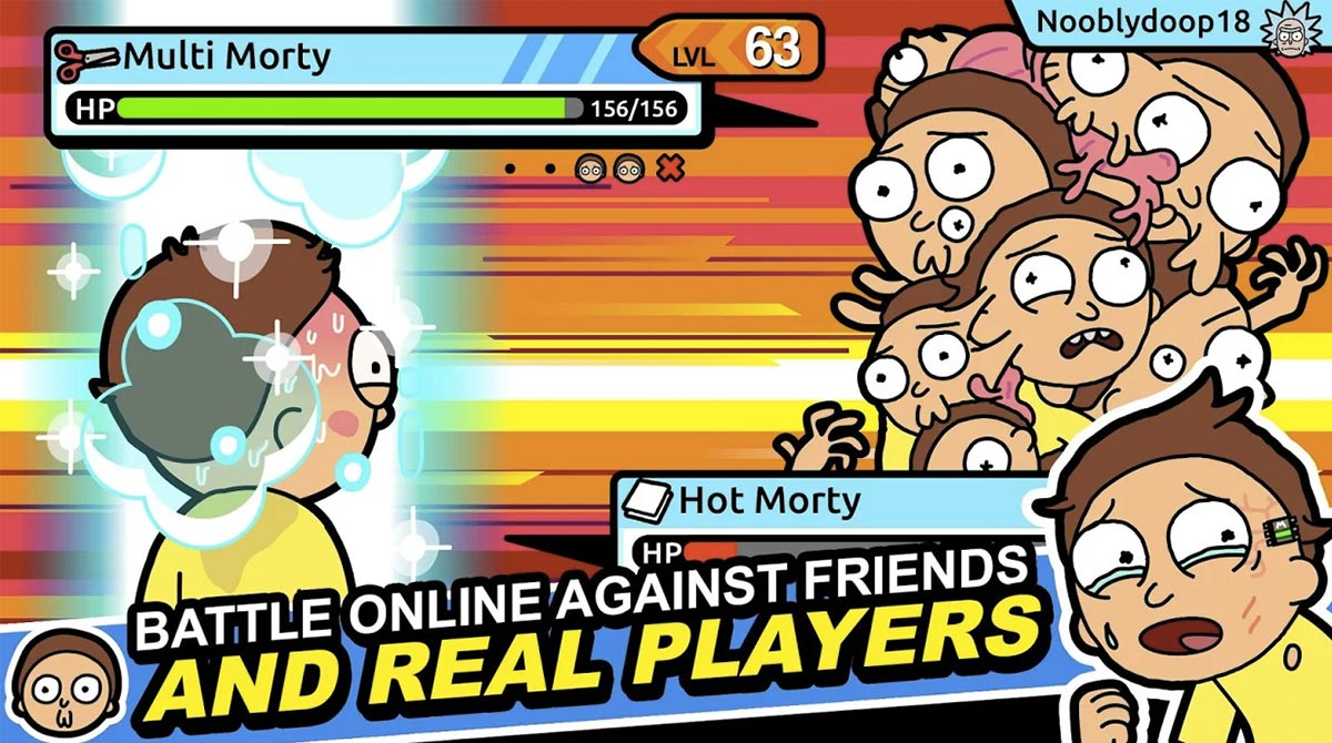 rick and morty real players