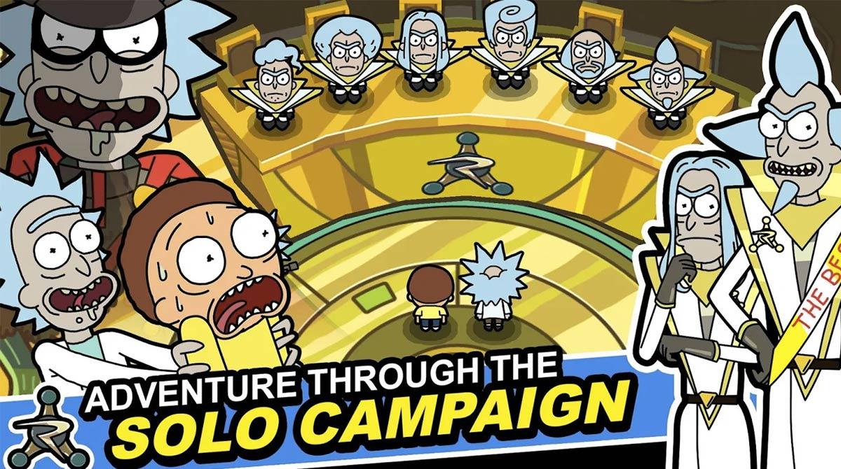 rick and morty solo campaign
