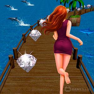 Play Royal Princess Run – Girl Survival Run on PC