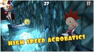 running fred speed acrobatics