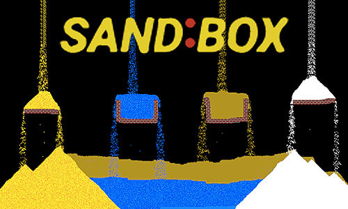 Play Sandbox Relaxing Particle Engine on PC