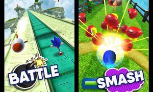 sonic dash run battle smash