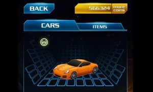 speed racing car items