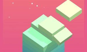 stack pink background yellow blocks