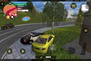 Stickman Rope Hero Car Chase