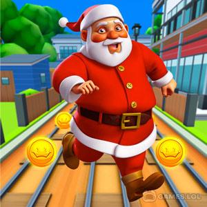 subway santa xmas run free full version