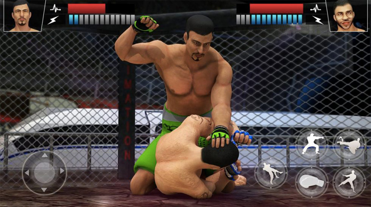 MMA fighting manager knockdown