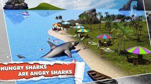 angry shark are hungry sharks