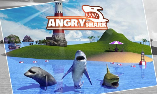 angry shark simulator 3d hungry for blood