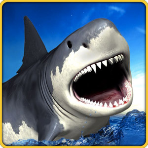 Play Angry Shark Simulator 3D on PC