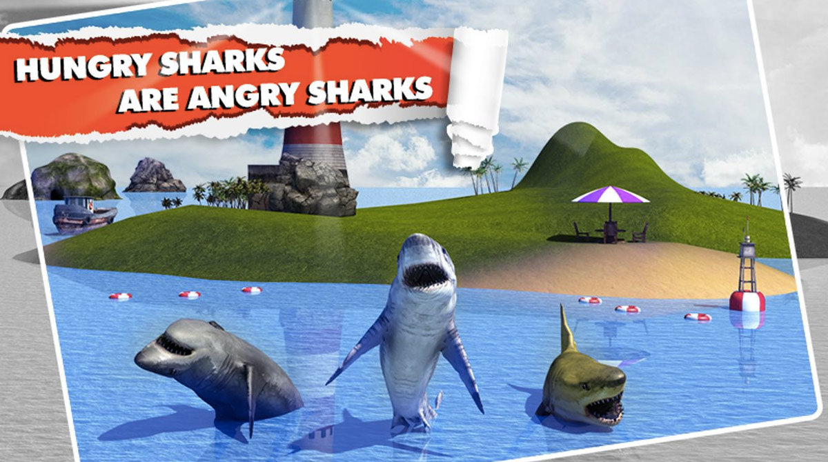 angry shark simulator choose your predator