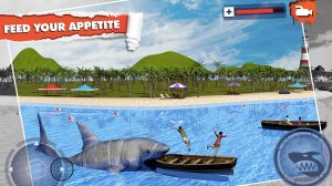 angry shark simulator feed your appetite