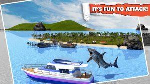 angry shark simulator fun to attack