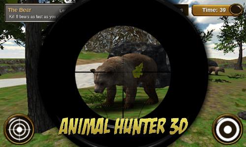 animal hunter 3d aim and fire