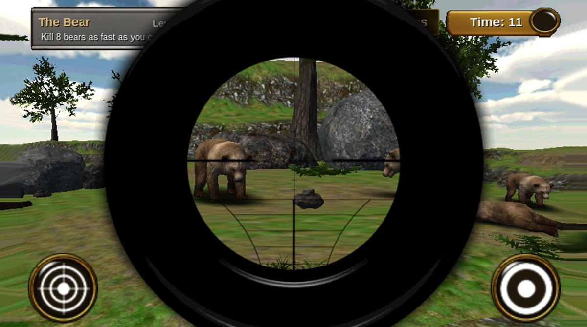animal hunter 3d bear killer