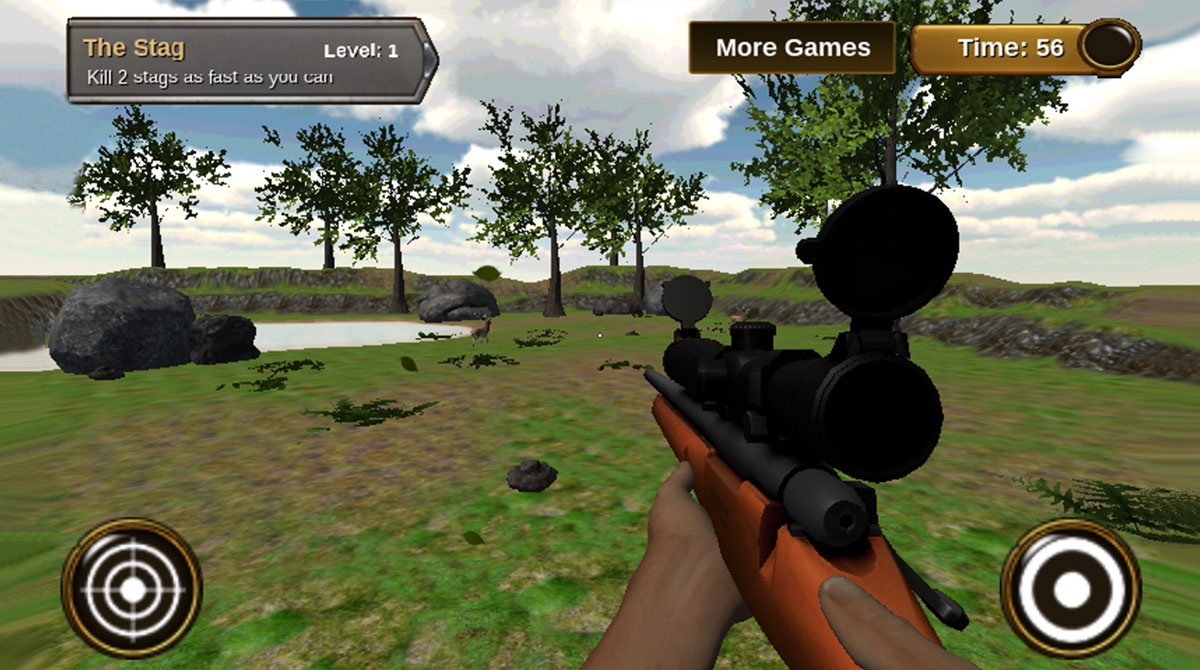 animal hunter 3d sniper rifle