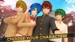 anime girl run choose character 2