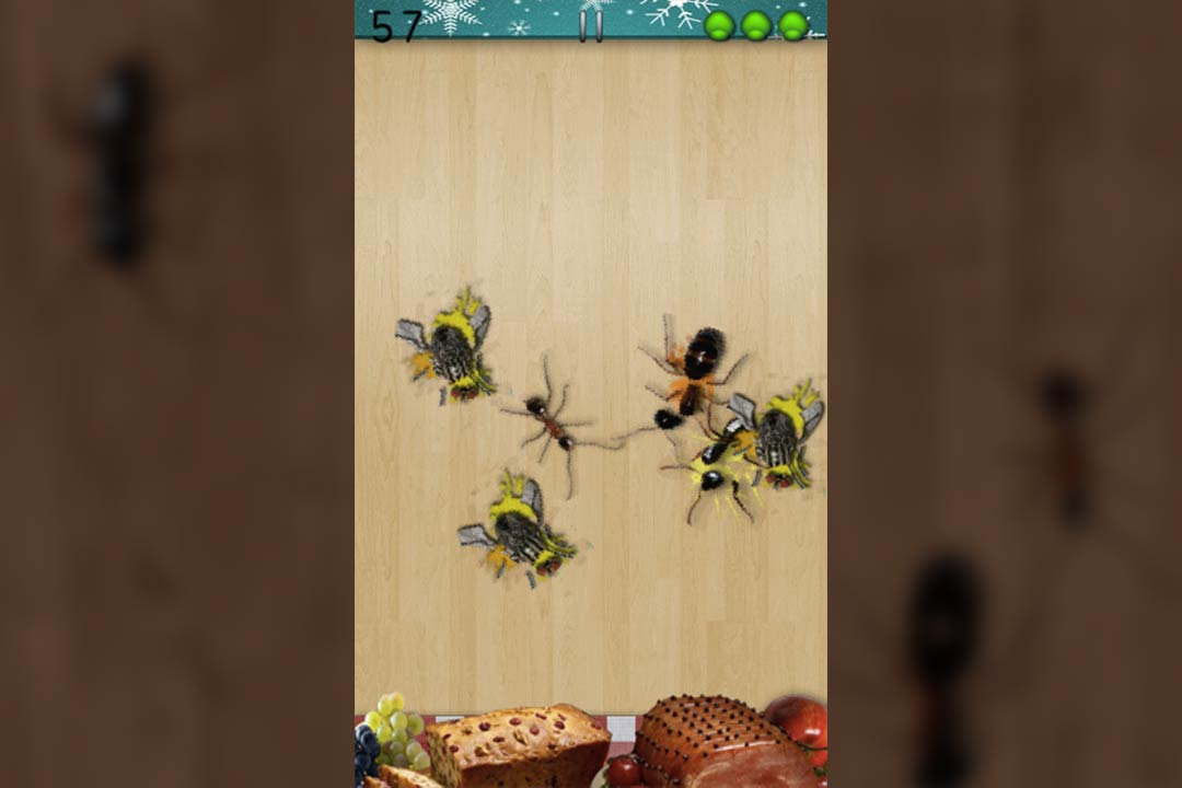 ant smasher christmas also flies