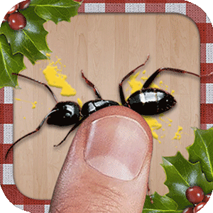 ant smasher christmas classic smashing game