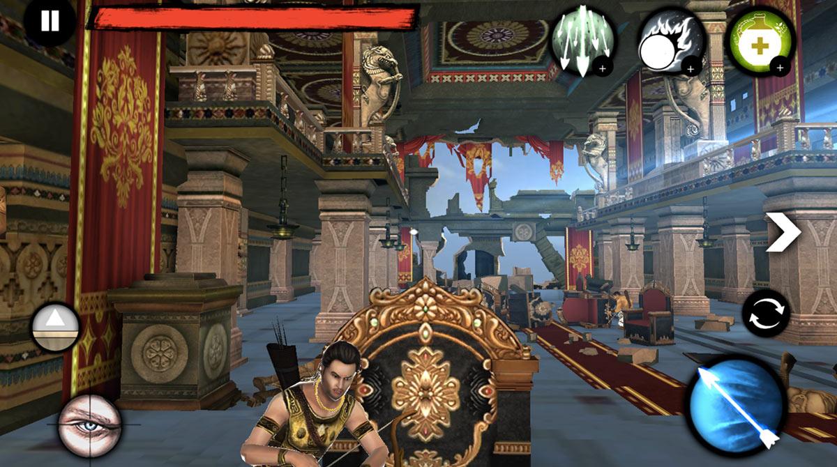 archer the warrior throne room