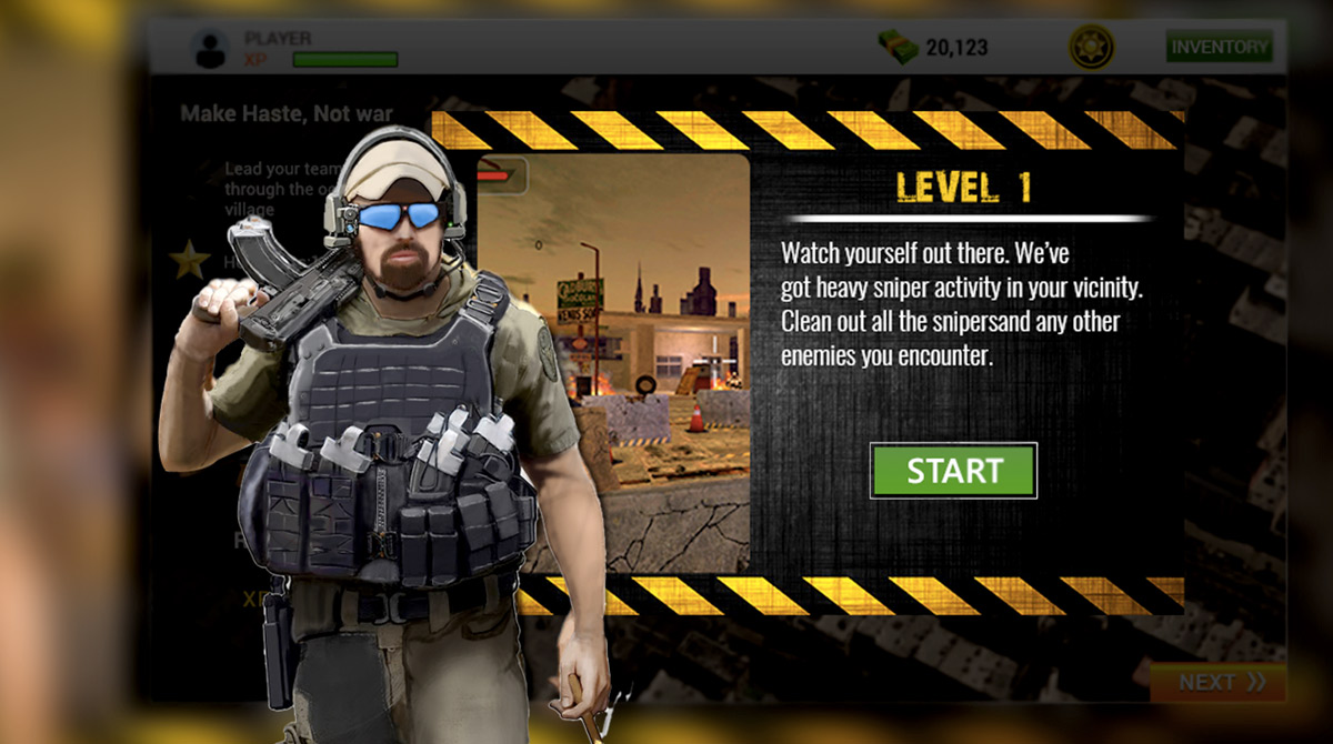 army commando assault level one