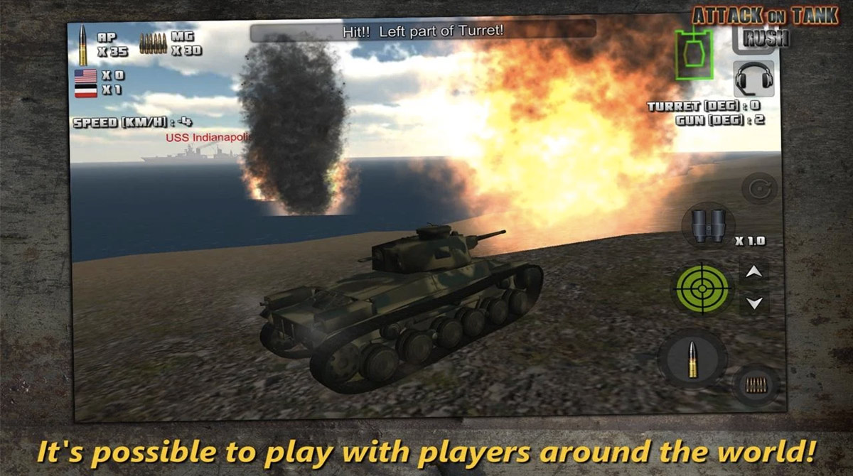 attack on tank multiplayer
